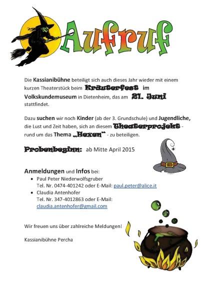 Aufruf PGB Kräuter 2015