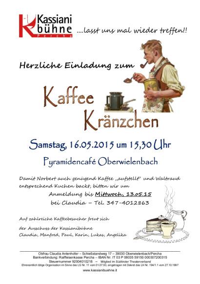 Einladung Kaffeekränzchen